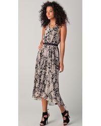 Halston Heritage Day Dress - Lyst