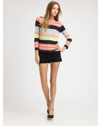 Marc By Marc Jacobs Flash Stripe Jersey Shirt - Lyst