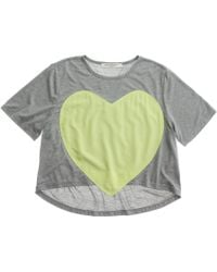 Laugh Cry Repeat Heart Tee - Lyst