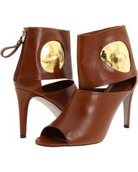 Sergio Rossi Brown Sandals - Lyst