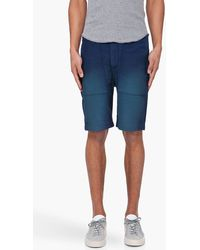 Diesel Blue Pectron Shorts - Lyst