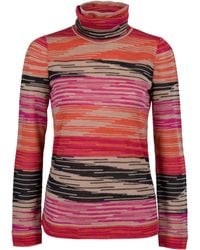 Missoni Mistero Printed Turtleneck - Lyst