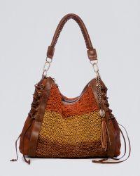 Olivia Harris   Woven Leather Hobo   Lyst