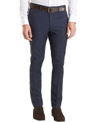 Theory Jake Suit Trousers - Blue