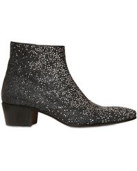 Tom Rebl - 50mm Stingray Effect Leather Boots - Lyst