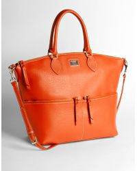 Dooney & Bourke Large Dillen Pocket Satchel - Lyst