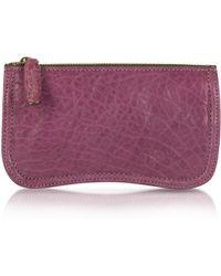 Abaco - Nina Genuine Leather Clutch - Lyst