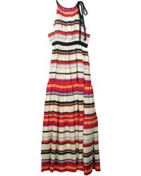 10 Crosby Derek Lam Multi Stripe Maxi Dress - Lyst