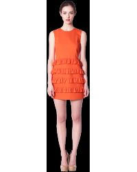 Erin Fetherston Ruffle Tiered Shift Dress - Lyst