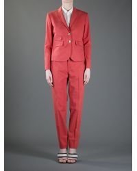 Gucci Trouser Suit - Red