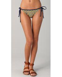Rag & Bone - Baja String Bikini Bottoms - Lyst