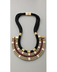 Holst + Lee   Plate Necklace   Lyst