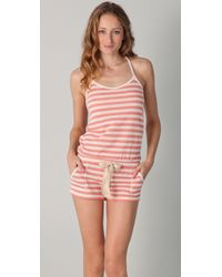 Juicy Couture - Amped Up Chilled Out Short Romper - Lyst