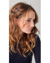 Marc By Marc Jacobs - Marc Script Hairclip - Lyst