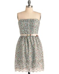 ModCloth Memories Of You Dress - Lyst