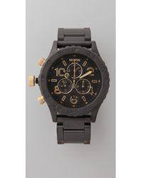 Nixon 42-20 Chrono Watch - Lyst