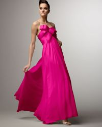 Notte by Marchesa Ribbon-bodice Gown - Lyst