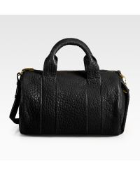 Alexander Wang Rocco With Rose Gold Hardware In Black black - Lyst