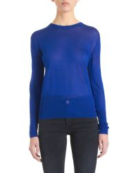Acne Studios Lia Plain Sweater - Lyst