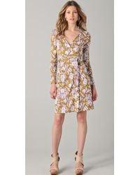 Diane von Furstenberg New Jeane Wrap Dress - Lyst