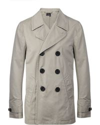 PS by Paul Smith Pea Coat - Lyst