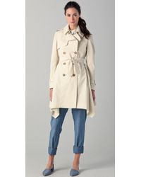 Boy by Band of Outsiders - Cutaway Trench Coat - Lyst