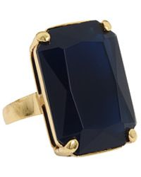 Kate Spade Treasure Chest Ring - Lyst