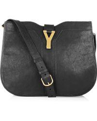 Saint Laurent Chyc Leather Shoulder Bag - Lyst