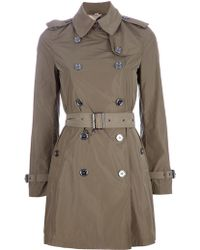 Burberry Brit Buckingham Trench Coat - Lyst