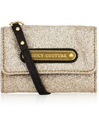 Juicy Couture - Glitter Card Case - Lyst