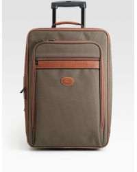 Longchamp 21 Trolley Suitcase - Brown