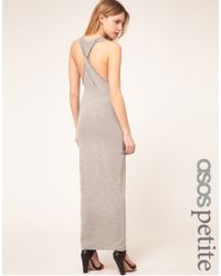 ASOS Collection Asos Petite Exclusive Maxi Dress with Twist Back - Lyst