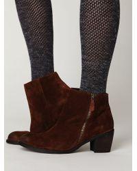 Free People Presley Zip Ankle Boot - Lyst