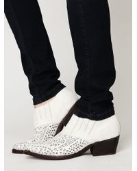 Free People Chandler Ankle Boot - Lyst