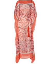 Diane von Furstenberg Aaliyah Printed Silkgeorgette Kaftan - Lyst