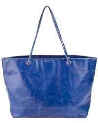 Halaby - Leather Shopper - Lyst