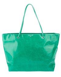 Halaby - Borsa Pella Verde Shopper - Lyst