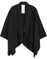 OAK - Cropped Cottontwill Kimono Cape - Lyst