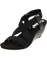 Ak Anne Klein Cooler Wedge Sandals - Lyst