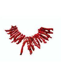 Chic Jewel Couture Corallium Choker I - Lyst