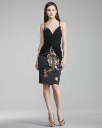 Julian Joyce By Mandalay Laceapplique Dress - Lyst