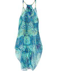 Matthew Williamson Embellished Silkmousseline Dress - Lyst