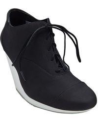 Adidas SLVR - Silver Oxford Wedge - Lyst