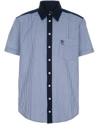 McQ by Alexander McQueen Checked Shirt - Lyst