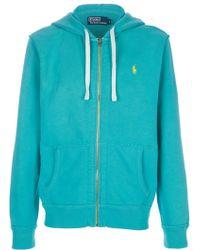 Ralph Lauren Blue Label Hooded Sweater - Lyst