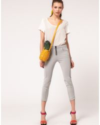 ASOS Collection Seamed Super Skinny Trousers - Lyst