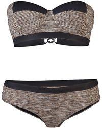 Bottega Veneta - Basket Weave Bikini - Lyst