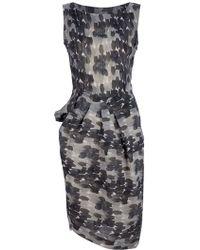 I Malloni - Print Dress - Lyst