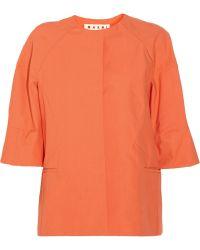 Marni Cotton Jacket - Lyst