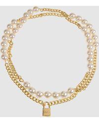 D&G Gold Dg Necklaces - Lyst